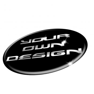 Wheel Badges in 3D Domed Gel to fit CUSTOM Wheel Centre Badges Stickers Decals SINGLES